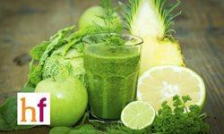 El poder quemagrasa de los zumos, batidos y smoothies verdes
