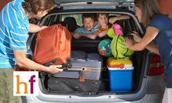 Cómo organizar el maletero de un coche familiar