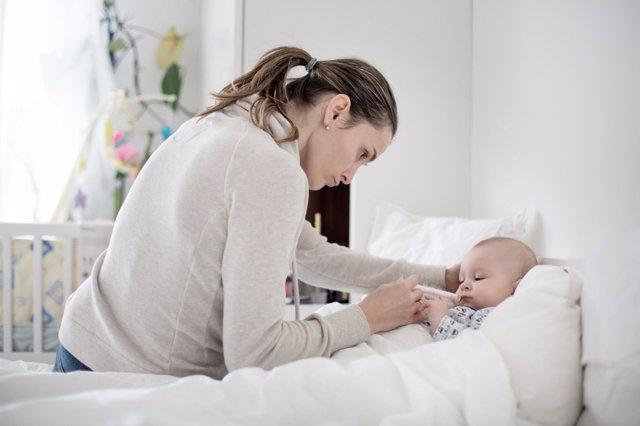 Ideas para cuidar a tu bebé con resfriado