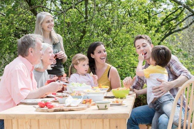 Comer en familia es más sano
