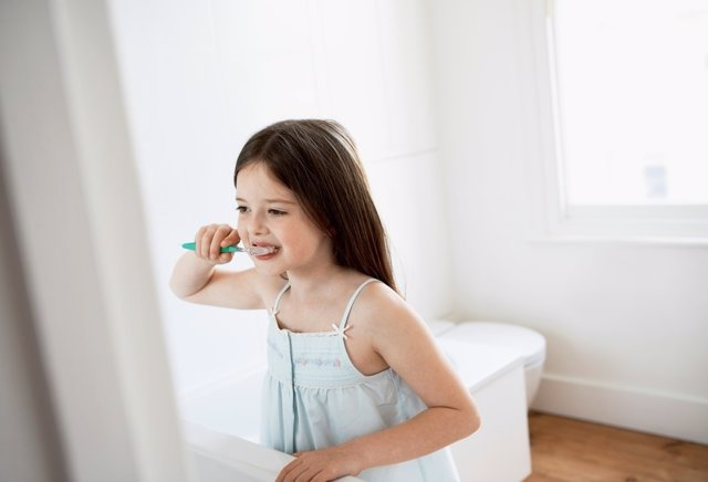Dientes sanos, hábitos de higiene para niños