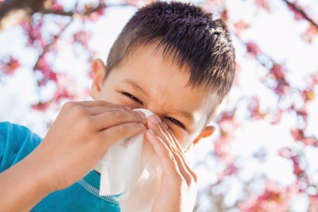 Alergia infantil o catarro