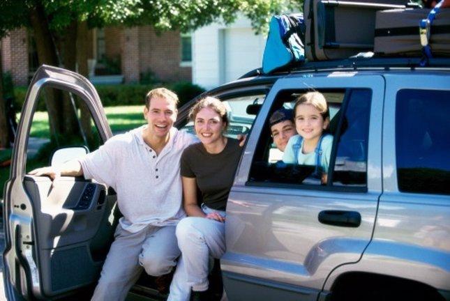 Hábitos de las familias cuando viajan en coche