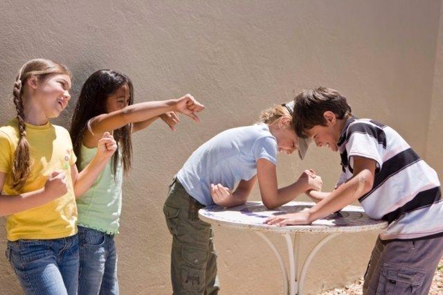 La amistad infantil y las malas influencias