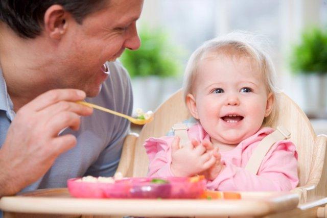 La introducción de la fruta y verdura en el bebé