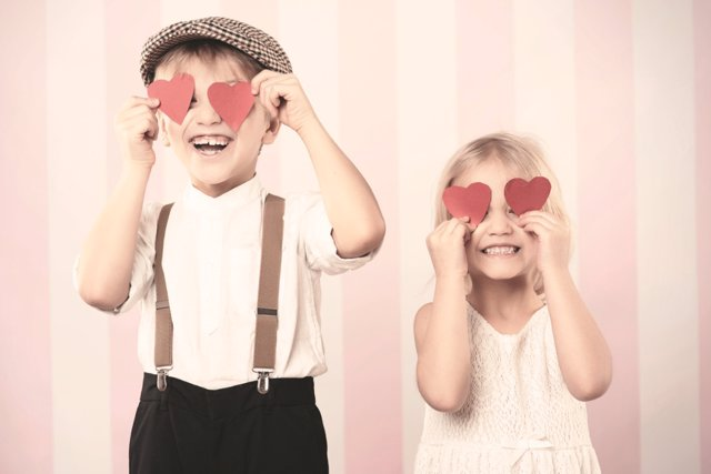Celebra San Valentín con tus hijos
