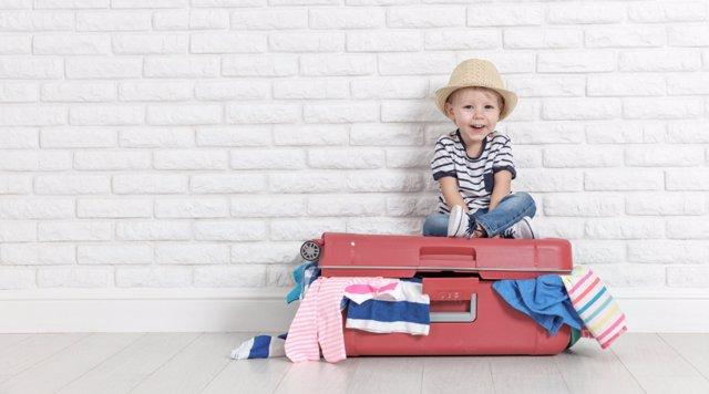 Juegos para entretener a los niños en sus viajes