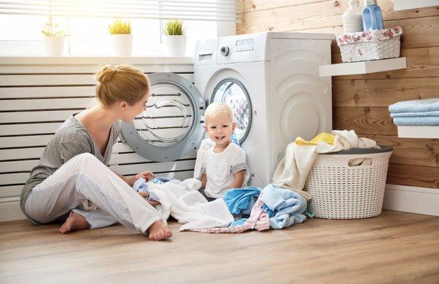 Trucos para lavar la ropa de tu bebé