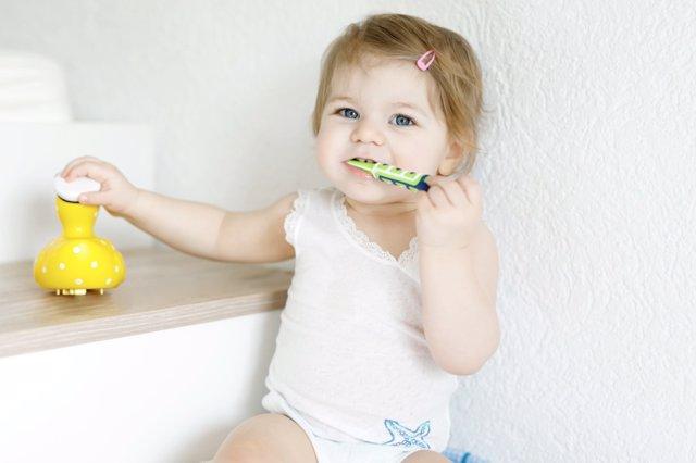 Cuidado diente de leche