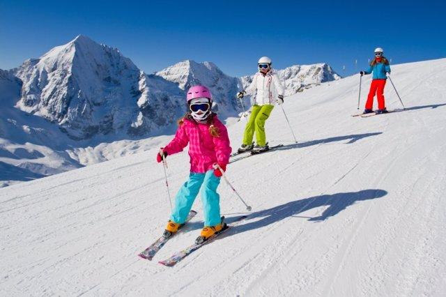 Esquiar: aprender desde niños