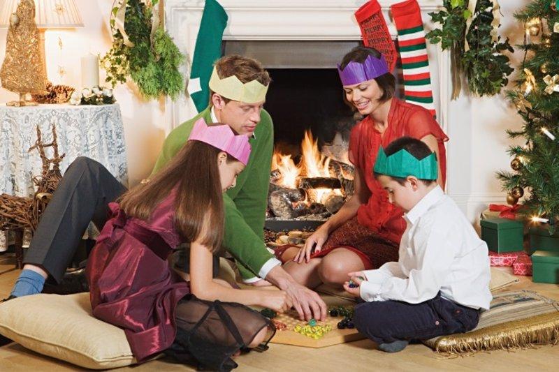 Juegos Infantiles Para Una Navidad En Familia