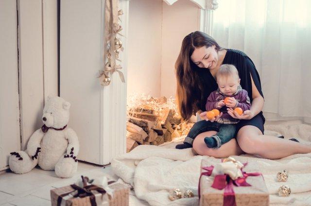 Tu primera Navidad como mamá