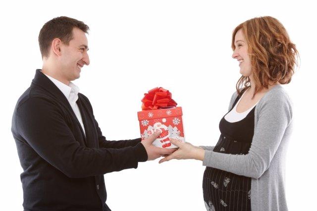 Regalos para la embarazada en Navidad