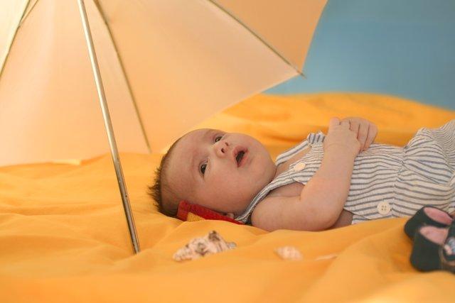 Consejos para aliviar al bebé cuando hace mucho calor