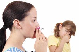 Evita que tu hijo sea un fumador pasivo