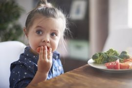 Cómo conseguir que los niños coman verduras