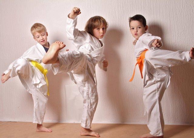 Taekwondo, un deporte para niños