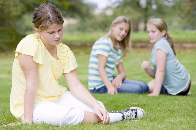 La obesidad influye negativamente en la vida social de los niños
