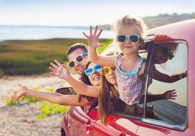 Las rabietas en el coche debens er controladas de inmediato.