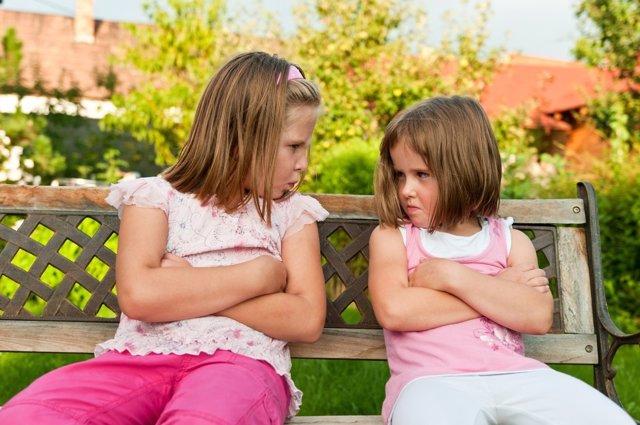 Los enfados de los niños