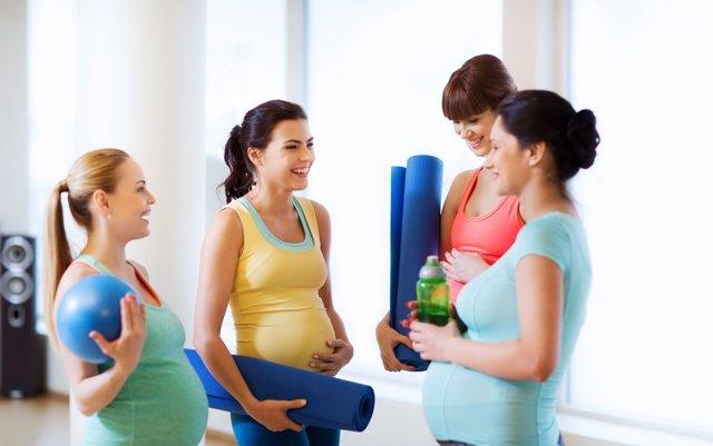 El ejercicio y la buena dieta previene la cesárea.