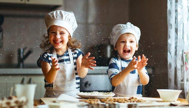 Qué les aporta la cocina a los niños.