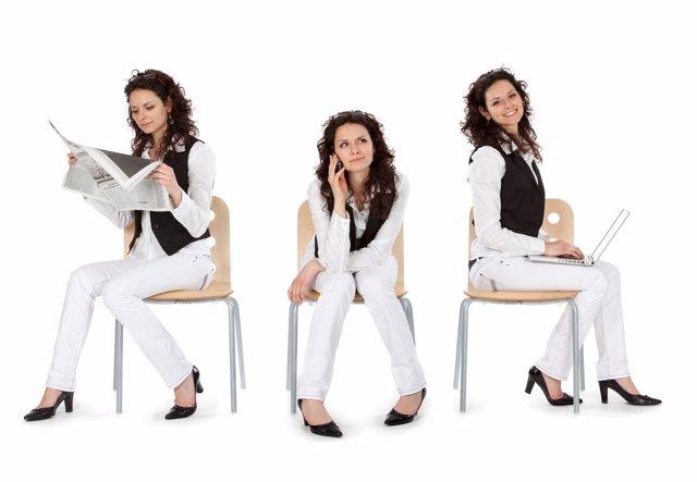 Riesgos de estar sentada más de 6 horas al día
