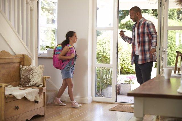 Los padres pueden ayudar en la vuelta al cole.