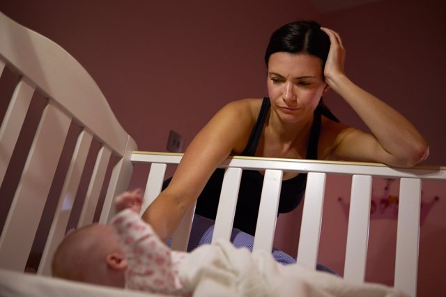 Cuando el niño llora de nada sirve perder la calma.