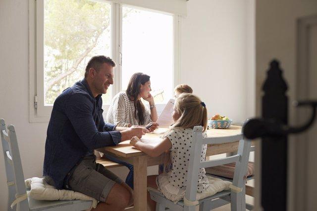La rutina familiar