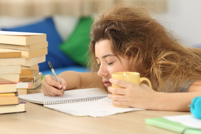El estado mental de los universitarios puede resentirse durante el curso.
