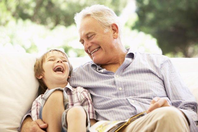 Así es la influencia de los abuelos en los nietos