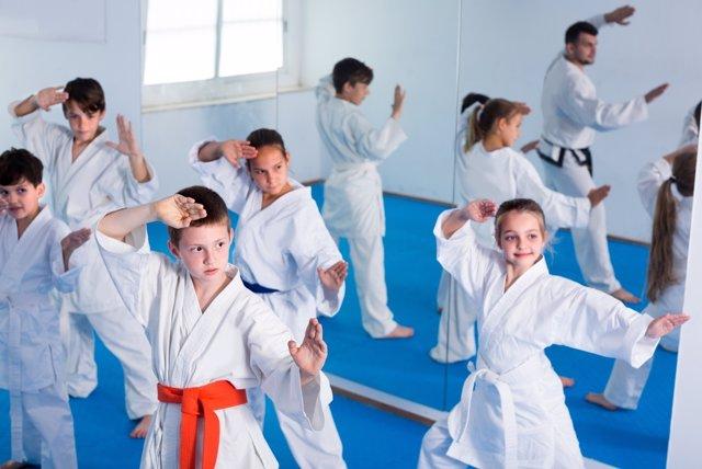 Artes marciales para niños
