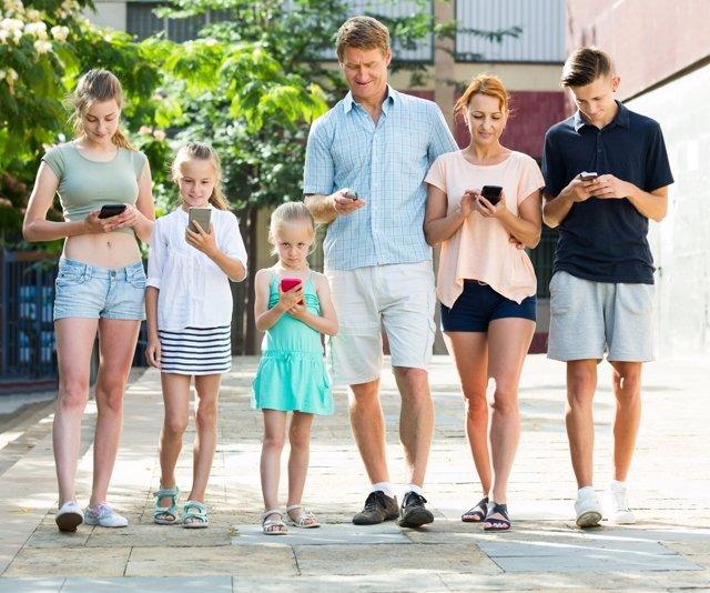 Redes sociales para padres