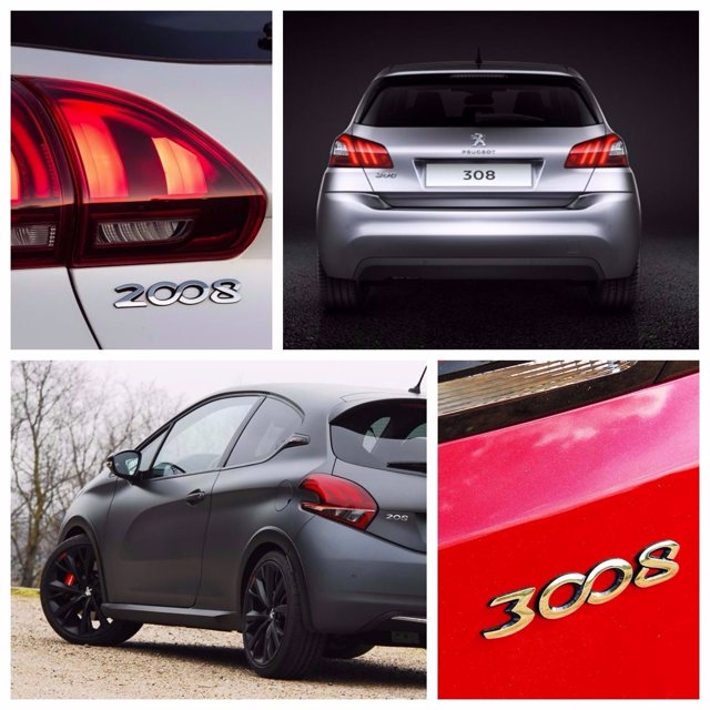 Por qué todos los modelos de Peugeot acaban en 8