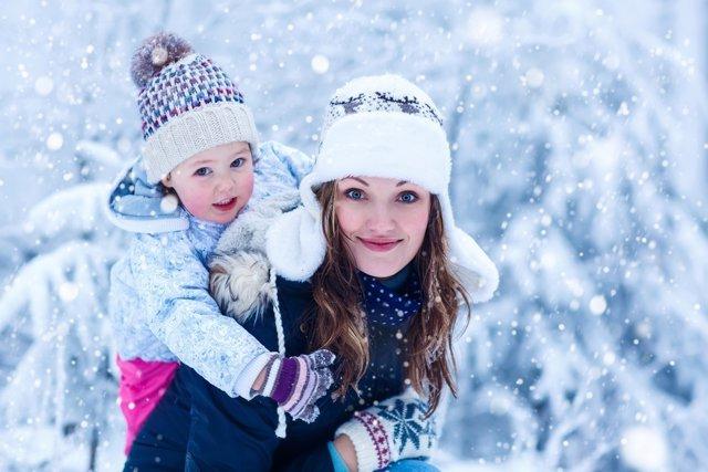 Actividades con tu bebé en invierno