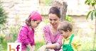 El jardín emocional de la alegría en familia