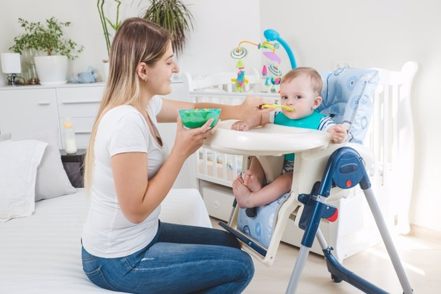 Enseña a masticaar a tu bebé