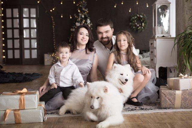 Reuniones familiares navideñas