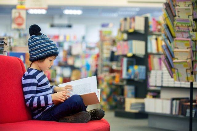 Tardes de biblioteca en Navidad