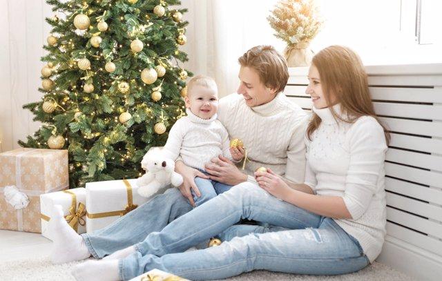 En familia se pueden cumplir muchos propósitos de año nuevo.
