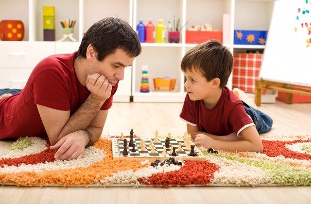 Pensar delante de un tablero de ajedrez