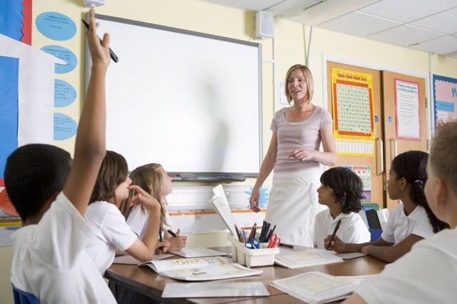Pizarras digitales ya en el 85% de las aulas de los colegios