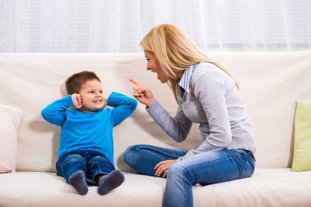 Niños obedientes y desobedientes