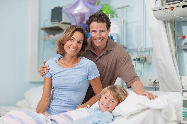 Los niños hospitalizados con cáncer podrán permanecer junto a sus padres.