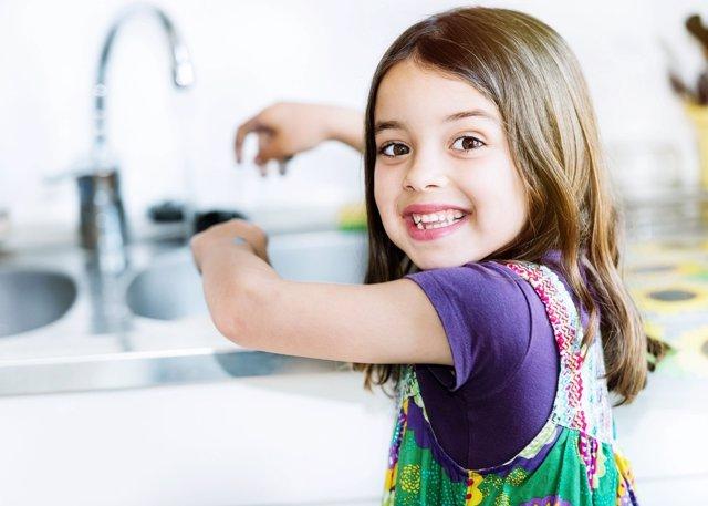 Experimentos con agua para niños
