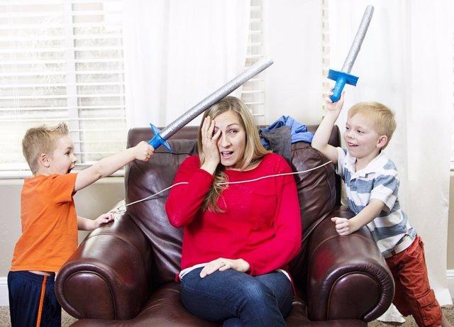 La actitud de algunos menores puede dar lugar a situaciones difíciles.