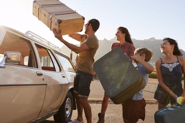Los viajes en familia deben tener en cuenta la edad del hijo