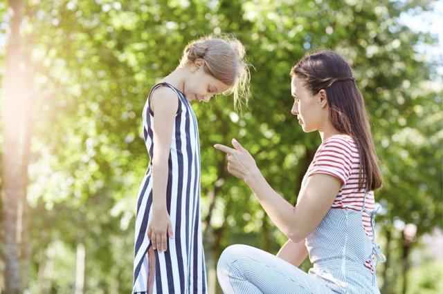 El castigo físico no tiene ningún efecto positivo en los niños.