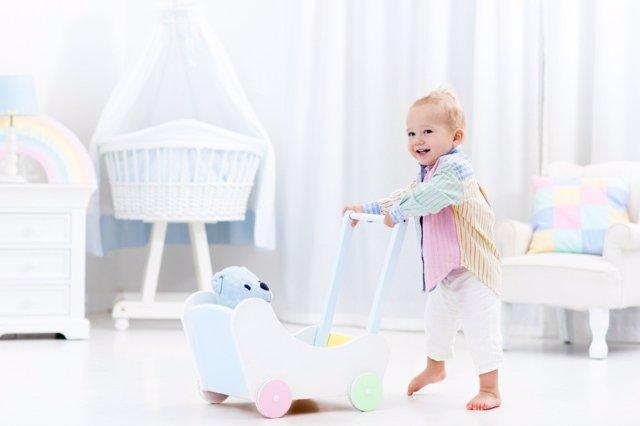 El sentido del equilibrio del bebé